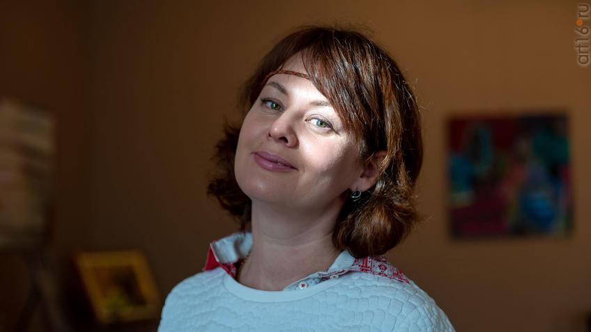 Римма Равилова::Выставка Союза художников Республики Татарстан «50 женских ликов»