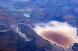 Небо. Крым из иллюминатора самолета