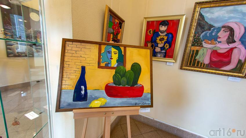 Life of cactus. 2019. Г.Шакирова::Руссо и мы. Выставка