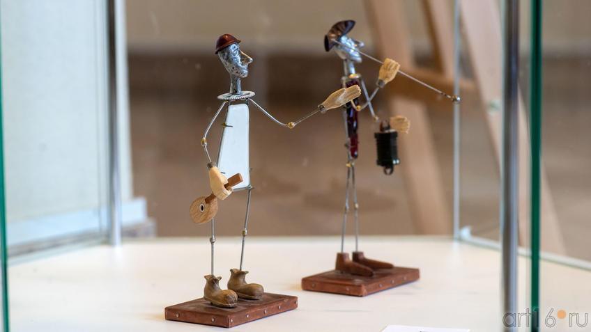 Арлекин и Пьеро. 2015. Р.Тухватуллин::Руссо и мы. Выставка