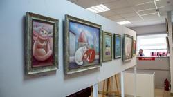 Фрагмент экспозиции выставки Л.Бабаевой