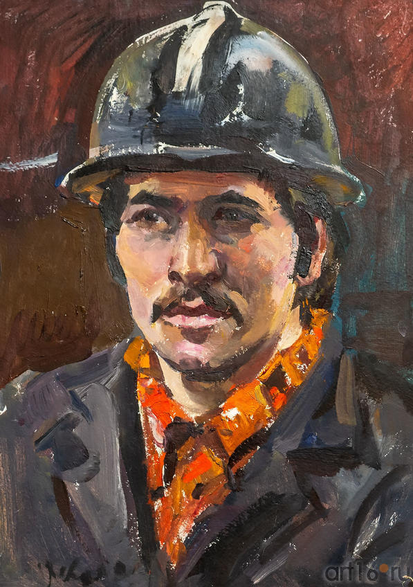 Наладчик Иванов Сергей, 1978, Куделькин В.И. ::Выставка к 100-летию ТАССР
