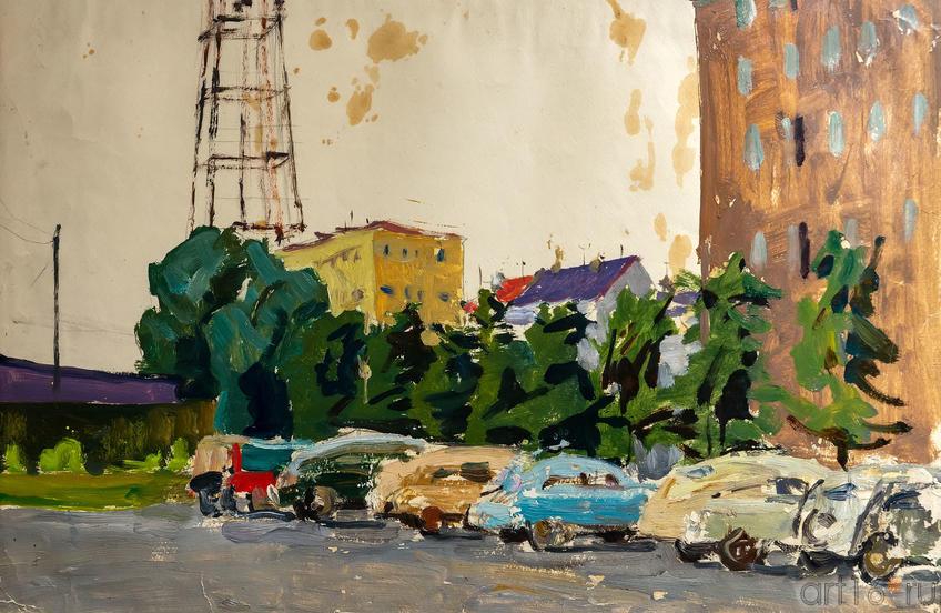Телевышка, 1982, Зуев Е.Вл.::Выставка к 100-летию ТАССР