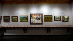 Фрагмент экспозиции выставки к 100-летию ТАССР (2 этаж)