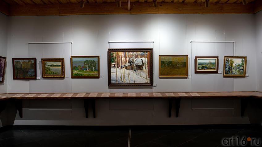 Фрагмент экспозиции выставки к 100-летию ТАССР (2 этаж)::Выставка к 100-летию ТАССР