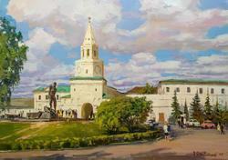Спасская башня Казанского Кремля. 2008. Фаттахов З.Ф.