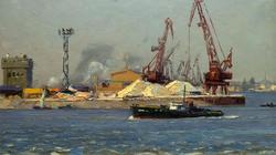Казанский речной порт. 1965. Усманов М.У.
