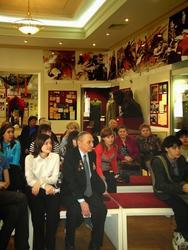 Аудитория музея ВОв