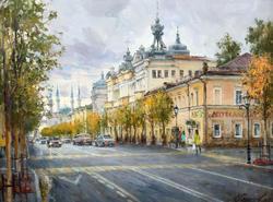 На улице Кремлевской. 2019. Азат Галимов