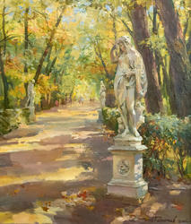 Летний сад. Ночь. 2006. Азат Галимов