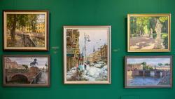 Фрагмент экспозиции выставки Азата Галимова «Между Западом и Востоком»