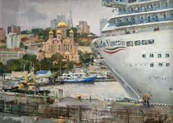 «Costa Venezia» в порту Владивостока. 2019. Азат Галимов