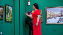 На выставке Азата Галимова в Центре «Эрмитаж-Казань»