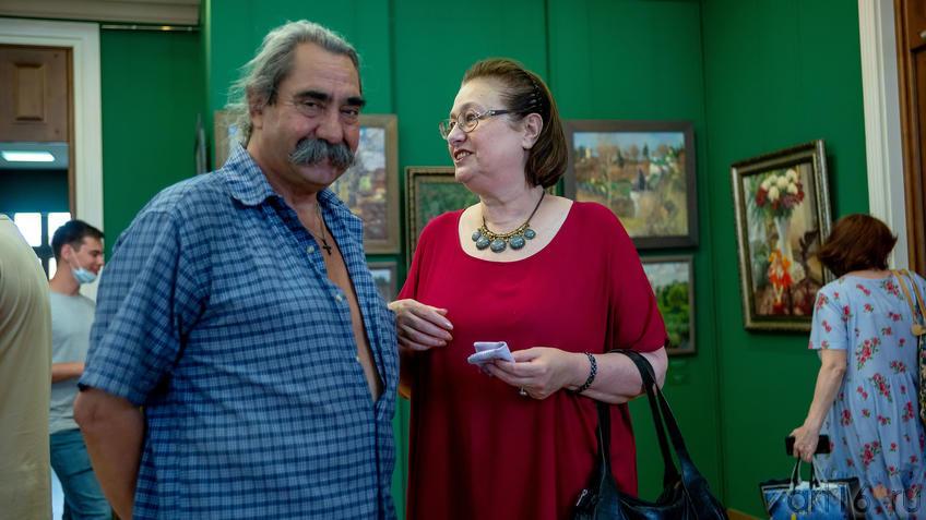 Виктор Тимофеев, Анна Куртева::Выставка «Азат Галимов. Между Западом и Востоком»