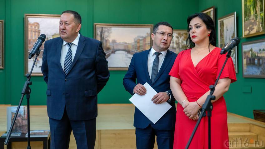 Айрат Сибагатуллин, Дамир Натфуллин, ...::Выставка «Азат Галимов. Между Западом и Востоком»