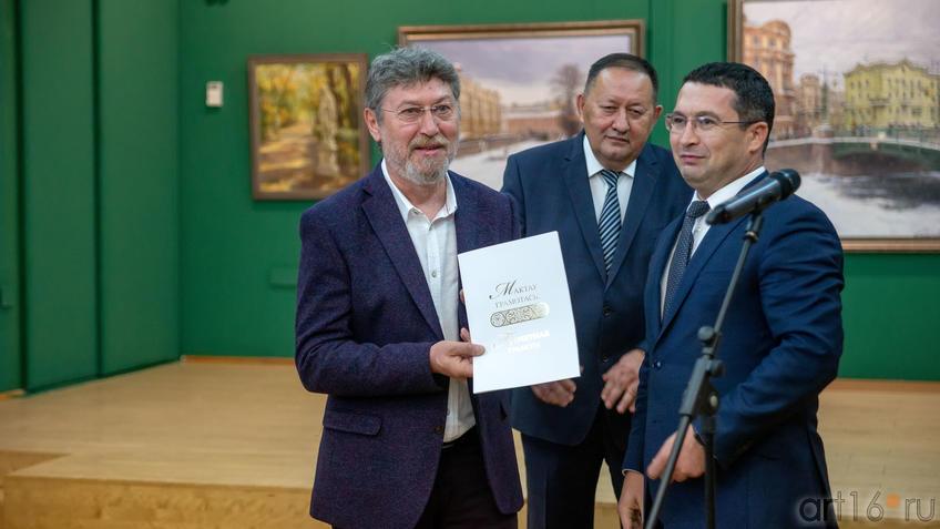 Азат Галимов, Айрат Сибагатуллин, Дамир Натфуллин::Выставка «Азат Галимов. Между Западом и Востоком»