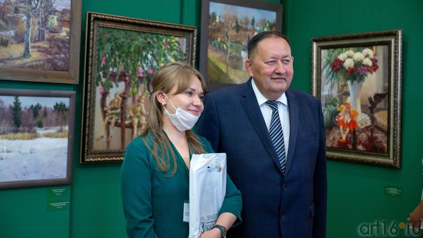 Маргарита Тихонова, Айрат Сибагатуллин::Выставка «Азат Галимов. Между Западом и Востоком»