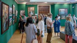 На открытии выставки Азата Галимова