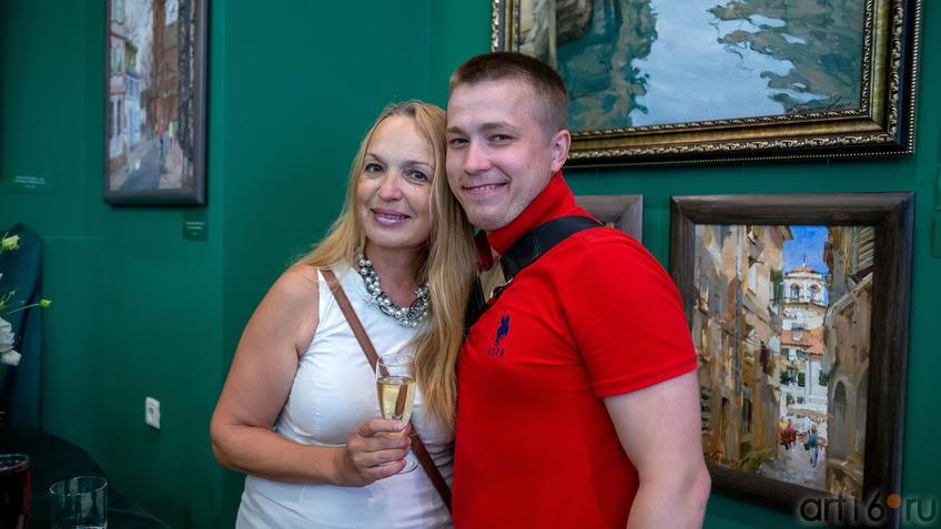 Елена Острая, Роман Абдуллин::Выставка «Азат Галимов. Между Западом и Востоком»
