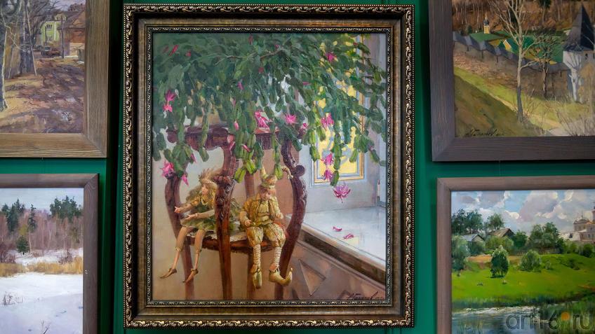 В гостях у сказки. Азат Галимов::Выставка «Азат Галимов. Между Западом и Востоком»