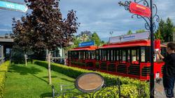Прогулочный автобус на Кремлевской набережной