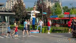 Дядя Степа на Кремлевской набережной