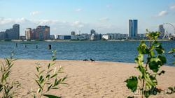 Казанка и правй берег. Вид с Кремлевской набережной