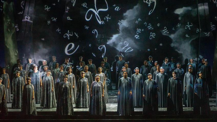 ::Спектакль на музыку Реквиема В.А.Моцарта «И воссияет вечный свет»