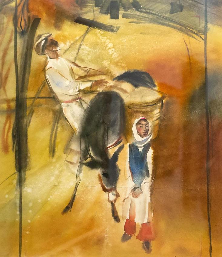 Осень. 1975. Равил Халилов::«Родник любви и вдохновения». Выставка из коллекции Фонда Марджани