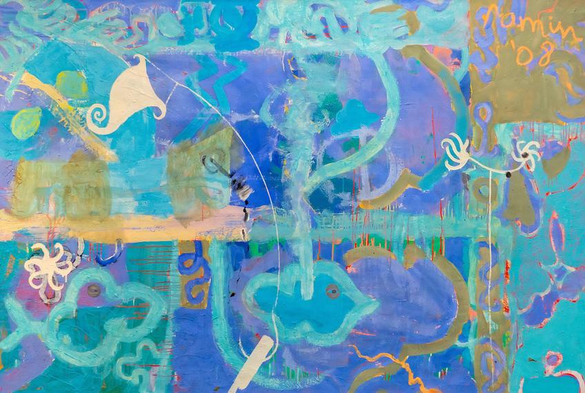 И кораблик плывет. 2007. Рамин Нафиков::«Родник любви и вдохновения». Выставка из коллекции Фонда Марджани