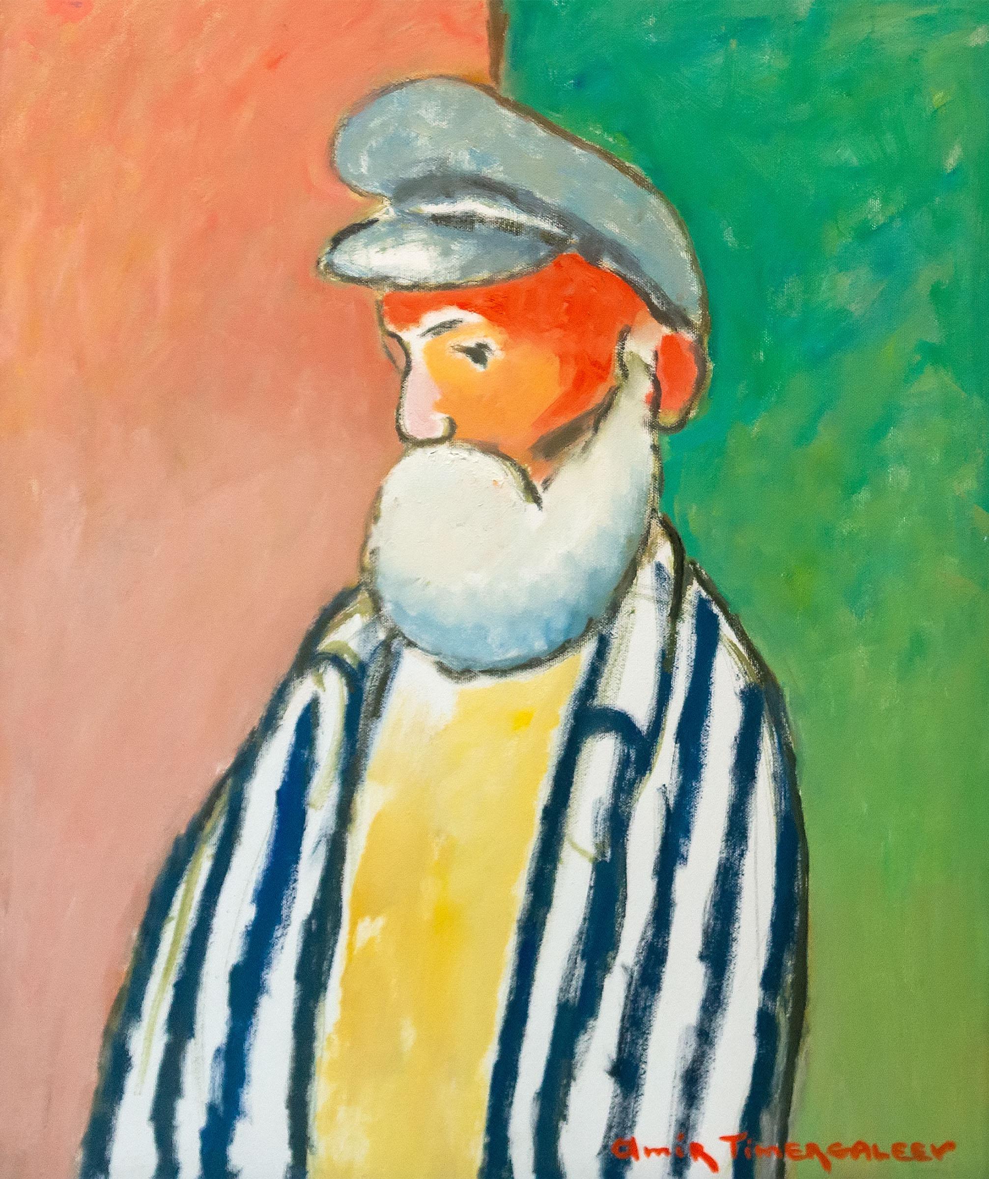 Портрет пожилого человека. 2002. Амир Тимергалеев::«Родник любви и вдохновения». Выставка из коллекции Фонда Марджани