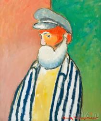 Портрет пожилого человека. 2002. Амир Тимергалеев