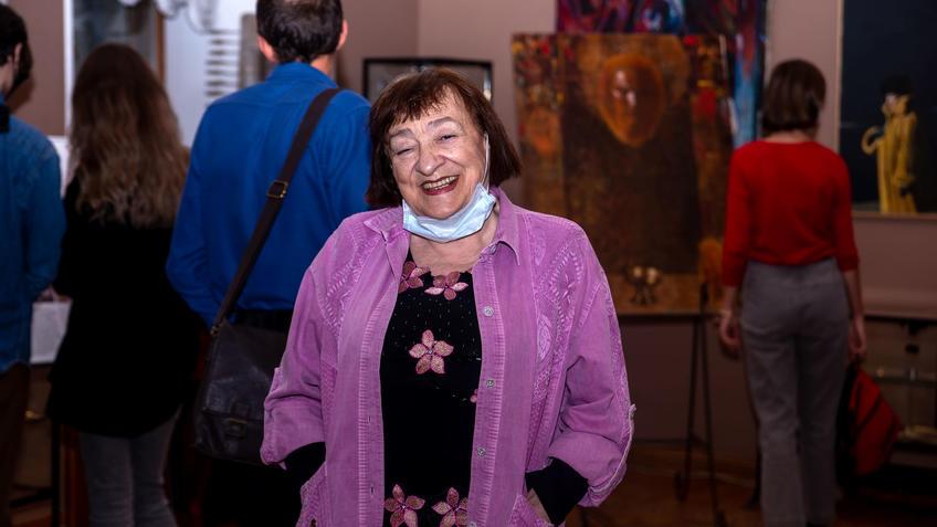 Вилора Касимовна Чернышова, искусствовед::Выставка 6 молодых художников. Взгляд через 50 лет. 1970-2020
