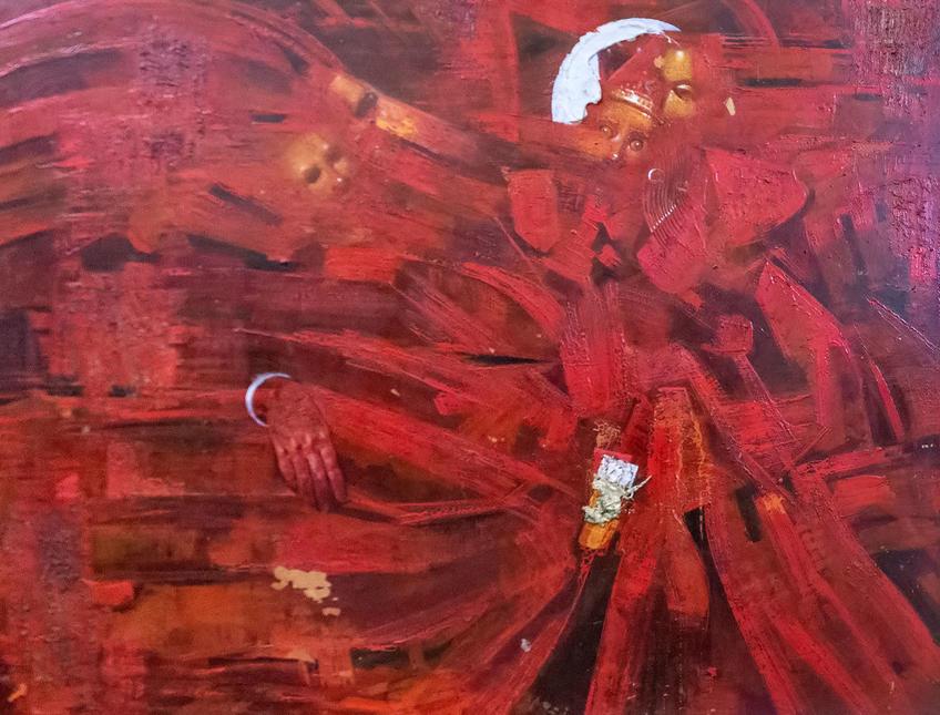 Танец. 1970. Нестеренко Владимир Александрович (1947)::Выставка 6 молодых художников. Взгляд через 50 лет. 1970-2020