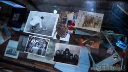 Фрагмент экспозиции. Архивные материалы. Башмаков.
