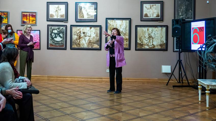 Вилора Касимовна Чернышова::Выставка 6 молодых художников. Взгляд через 50 лет. 1970-2020