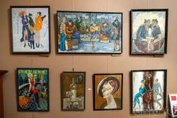 Экспозиция с картинами Фаттахова Рустема Шайгалеевича (1946-2019)