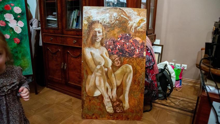 ::Выставка 6 молодых художников. Взгляд через 50 лет. 1970-2020