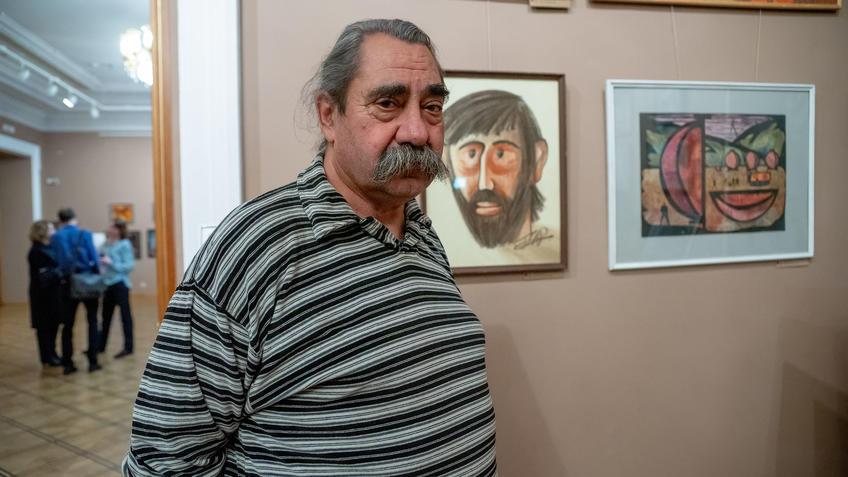 Тимофеев Виктор Евгеньевич::Выставка 6 молодых художников. Взгляд через 50 лет. 1970-2020
