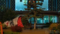 Цветочный фестиваль возле ТГТК «Экият». Вечер, Казань