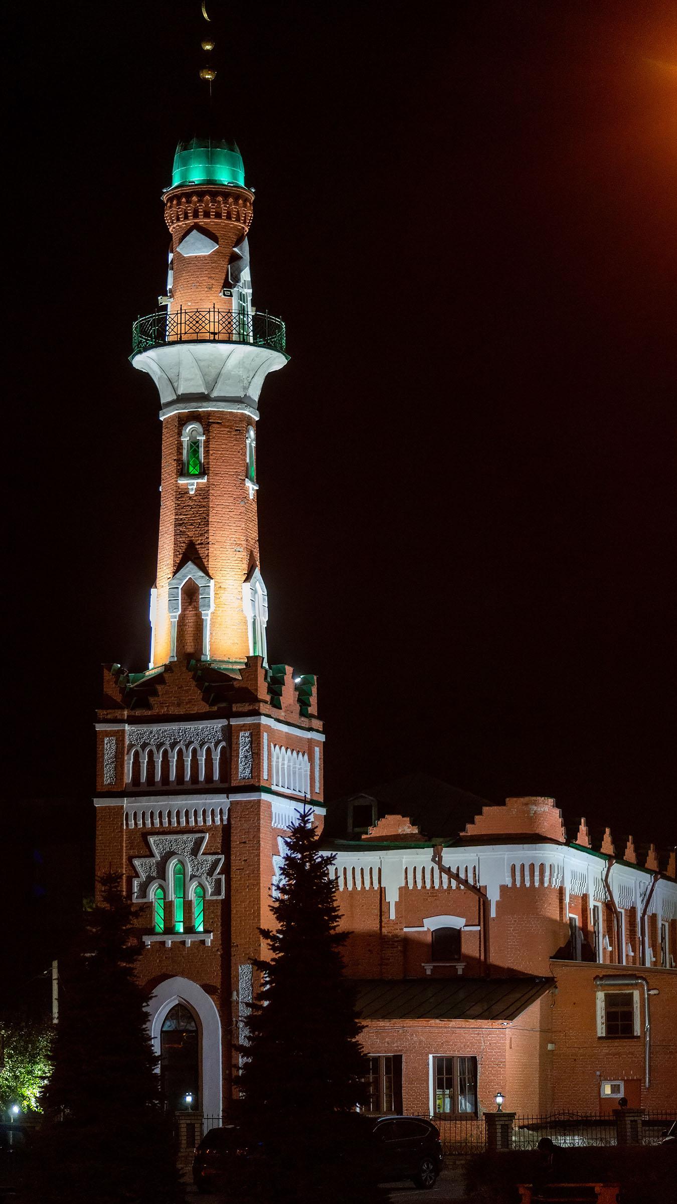 Закабанная мечеть. Вечер, Казань::Ночная прогулка по Казани