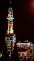 Закабанная мечеть. Вечер, Казань