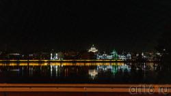 Вид на левый берег Казанки вечером, Казань