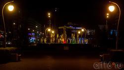 Фонтан в сквере Стамбул, Казань