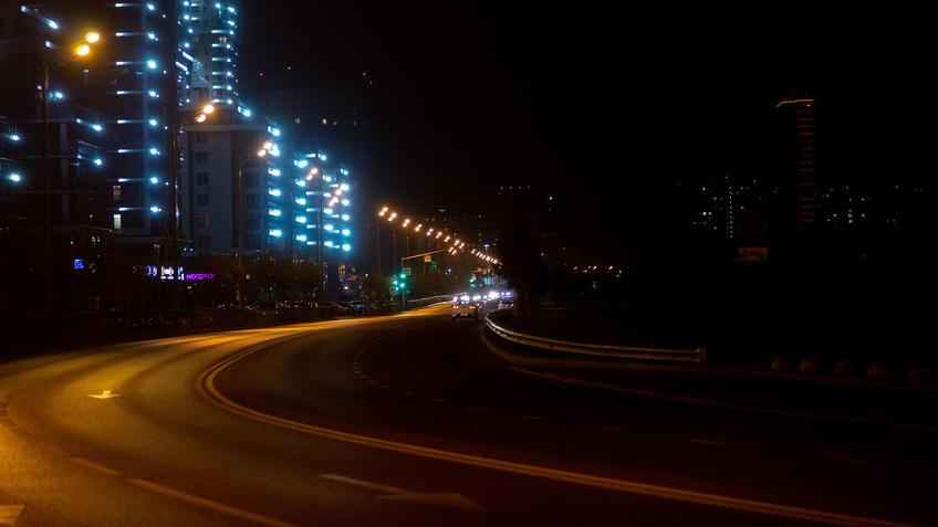 Ул. Сибгата Хакима вечером, Казань::Ночная прогулка по Казани