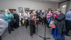 Открытие выставки Елены Шмелевой «Мечты, сплетенные в судьбу»