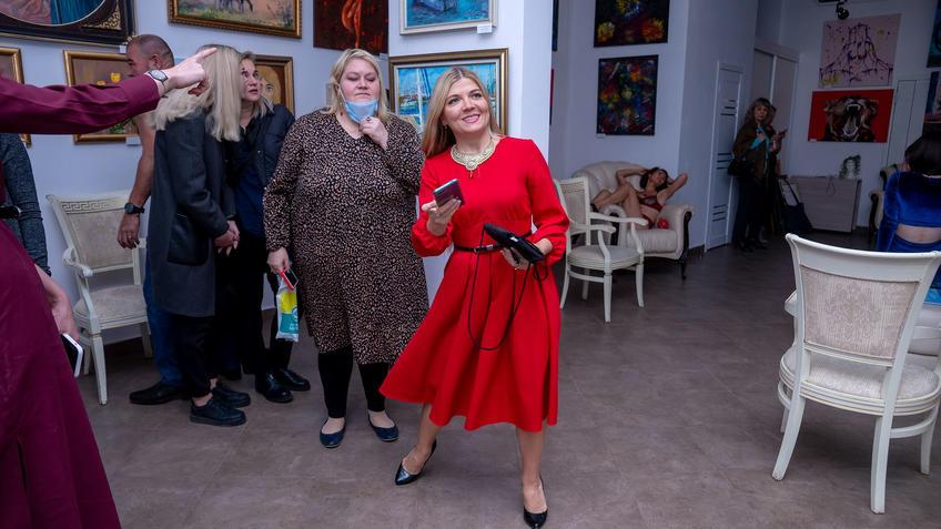 Гульнара Шакирова, Полина Илюшкина::Выставка «АРТ Интерьер»
