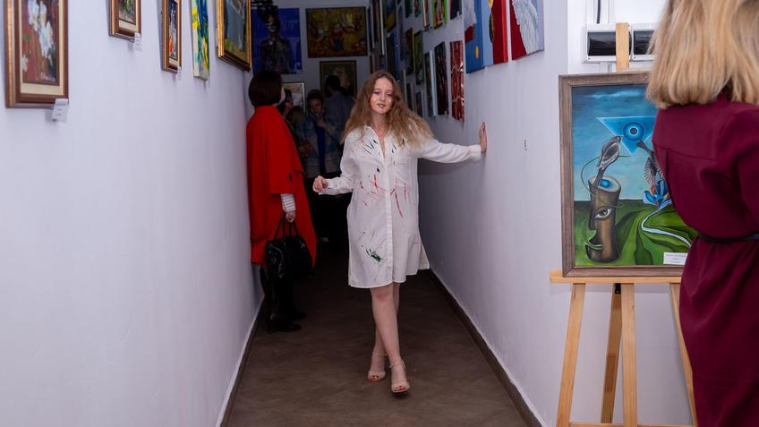 Участница студии Vart::Выставка «АРТ Интерьер»
