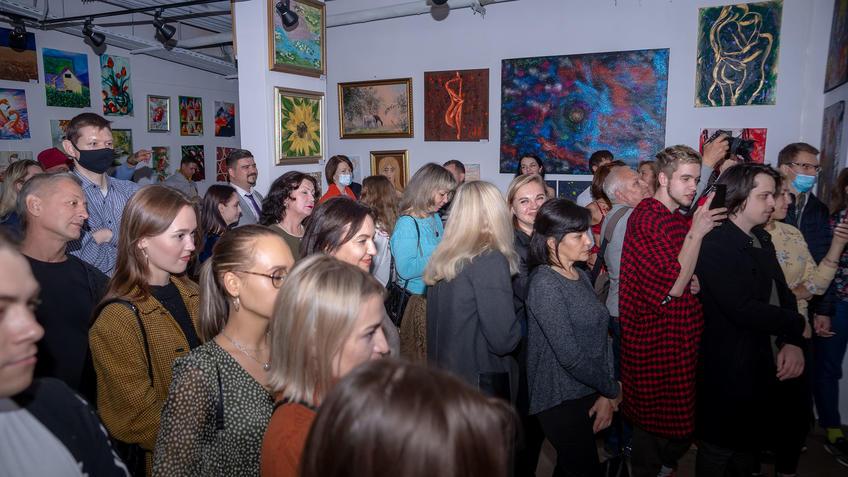 Открытие выставки «АРТ ИНТЕРЬЕР»::Выставка «АРТ Интерьер»