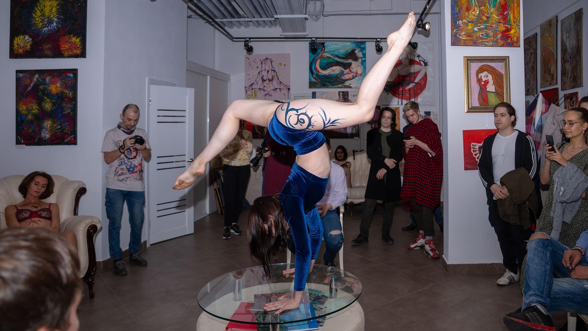 Выступление студии Vart::Выставка «АРТ Интерьер»